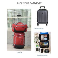 OUR ABSOLUTE BEST TRAVEL BAGS & GEAR. Shop your luggage by category!