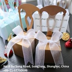 Online Shop Free Shipping 408pcs Miniature Chair Place Card Holder and Favor Box TH002-B2 wedding candy boxes gift favor box
