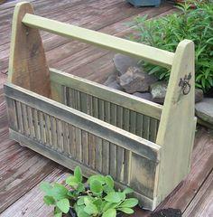 Garden Planter Box. from shutter