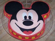 Modelos de pasteles de Mickey Mouse