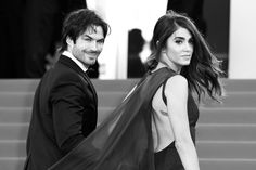 Hi. This is the talented and stunning couple Ian Somerhalder and Nikki Reed. | Nikki Reed & Ian Somerhalder's Wedding Video Will Make You Weep