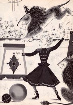 Miss Lollipop's Lion by Judy Varga 1963