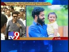 Jr.NTR posts son Abhay Ram pics on Twitter