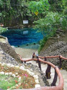 Enchanted River Hinatuan, Surigao del Sur, Philippines