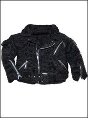 Crochet Classic Motorcycle Jacket