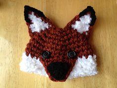 Woodland Fox & Wolf Hat by Crochet by Jennifer $4.95