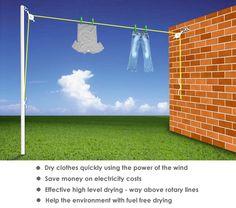 vileda 30m dual cordomatic washing line two retractable. Black Bedroom Furniture Sets. Home Design Ideas