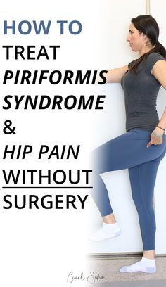 If piriformis syndrome, sciatica, and lower back pain is stopping you from living your life, please read this post. There is hope. Piriformis Syndrome Treatment, Yoga Poses For Sciatica, Sciatica Exercises, Hip Pain Relief, Sciatica Pain Relief, Yoga Routine, Hip Strengthening Exercises, Hip Flexor Exercises, Ejercicio