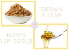 Beauty School: Make Your Lipcolor Last lip scrub tsp brown sugar & 2 Tbs honey gently rub in a circular motion then rinse, finish w/ lip balm ) evoo will work but honey is more hydrating Michelle Phan, Just Beauty, Diy Beauty, Spf Lip Balm, Makeup At Home, Exfoliating Face Scrub, Lip Scrub Homemade, Lip Care, Beauty Secrets