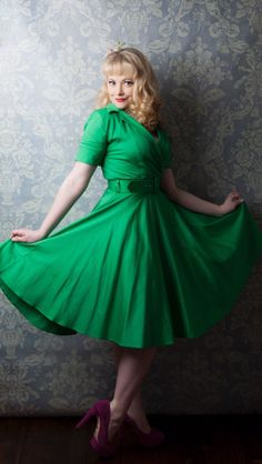 Exclusive photography and Kitten D'amour dress - love this one