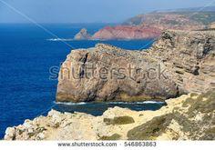 Cape the St. Vincent - The End of the World - Portugal,  algarve, atlantic, beach, beautiful, blue, cabo, cape, cliff, coast, coastline, de, destination, end, europe, horizon, landmark, landscape, mediterranean, mountain, nature, ocean, outdoor, point, portugal, portugese, rock, rocky, sagres, saint, sao, scenic, sea, seaside, shore, sky, st, stone, summer, tourism, travel, vacation, vicente, view, vincent, water, waves, west, wild, world
