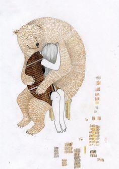 bear hug....un abbraccio orsoso