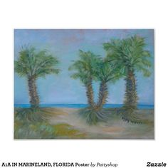 A1A IN MARINELAND, FLORIDA Poster
