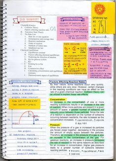 reinanotes: yeah chem its not like i have a social status to live up to. College Notes, School Notes, I School, School Style, Bullet Journal And Diary, Bullet Journal School, Collision Theory, Biology Major, University Life