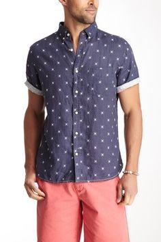 Brad Short Sleeve Abstract Print Shirt