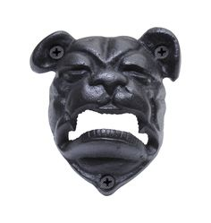 Rejuvenation | Bulldog Bottle Opener: Cast Iron $15