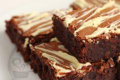 brownie com chocolate extra  confira receita no blog na minha panela