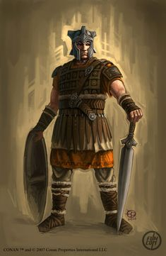 age of conan concept art | ... ve completed for the MMO Age of Conan - Hyborian Adventures