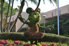 Minnie Mouse at 2014 Flower and Garden