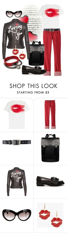 """""""Untitled #740"""" by saritanwa ❤ liked on Polyvore featuring Maison Margiela, prAna, Belstaff, Sandqvist, Alice + Olivia, Steve Madden and Alexander McQueen"""