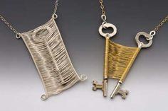 Captured Keys - Wire Woven Designs by Original Sin Jewelry