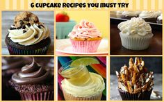 From over-the-top chocolate to tequila shots, these 6  incredible cupcake recipes have. it. all.