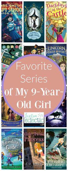 Favorite Series of My Girl - Lextin Eclectic Books For Moms, Good Books, Books To Read, Free Books, Best Children Books, Childrens Books, Homeschool Books, Homeschooling, 9 Year Old Girl