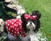 Princess Cinderella inspired Dog Dress/Costume Size Medium/Large. $28.99, via Etsy.
