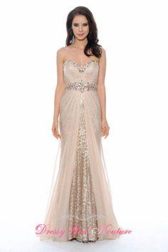Decode 1.8 182498 a taste of romance #ChampagneDress #SequinDress2014 #HolidayDress2014 $338.00