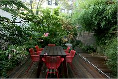 Modern Backyard in Brooklyn - Modernica Blog   Modernica Blog