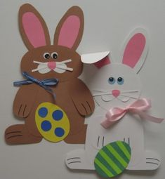 Easter Bunny Glyph with data analysis printable and student surveys