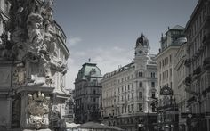 Vienna, Austria / Stone Face on Behance City Sketch, Louvre, Sketches, Vienna Austria, Stone, Building, Face, Photography, Behance