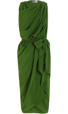 Lanvin Belted Wrap Dress