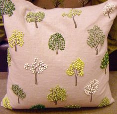 More french knot trees!