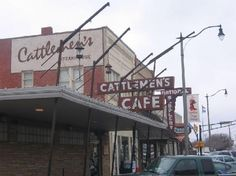 Cattleman's OKC The best steak in town by far.  Good Lamb Fries too...