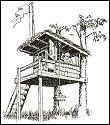Two Trees And Two Posts TreeHouse