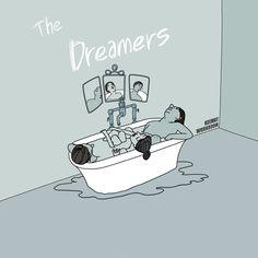 [영화] 몽상가들(The Dreamers, 2003) '영원할 것 같았던 청춘의 열기, 사랑, 그리고 꿈... 아름다운 시잘에 바치는 거장의 러브레터.'