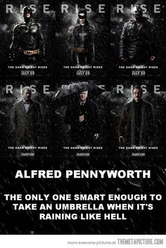 Alfred. YES!