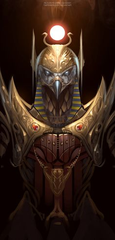 Egyptian Artist Creates Renditions Of 3 Ancient Egyptian Gods And They're Glorious Egyptian Mythology, Egyptian Symbols, Egyptian Goddess, Egyptian Art, Egypt Concept Art, Ancient Egypt Art, Ancient History, European History, Ancient Aliens