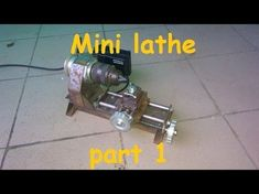 "Metal working: Making ""Dremelathe"" small rotary tool powered lathe Part 2. (Workstation part 3) - YouTube"