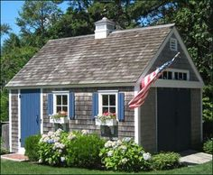 Too cute for words. Garden shed