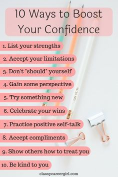 Confidence builds the foundation for you to set boundaries, take risks, try new things, and stand up for yourself, and when you have confidence, life is more enjoyable! So do you want to believe in yourself? Do you want to be happy? Do you want to love your work and get paid what you're worth? Use these 10 ways to increase your confidence