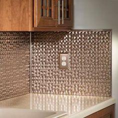 Fasade in. x 18 in. Titanium Grey Vinyl Decorative J-Trim - The Home Depot Decorative Wall Tiles, Mosaic Wall Tiles, Decorative Screens, Backsplash Panels, Vinyl Trim, Smart Tiles, Tile Trim, Luxury Kitchen Design, Ceiling Panels