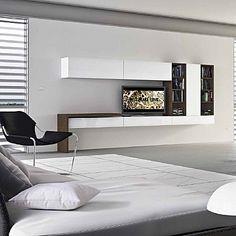 White, Original U0027Coldu0027 Wall Unit. Beautiful, Contemporary, Modern And  Minimalist