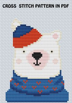 Discover recipes, home ideas, style inspiration and other ideas to try. Baby Cross Stitch Patterns, Cross Stitch Borders, Cross Stitch Charts, Baby Patterns, Cross Stitch Embroidery, Mini Cross Stitch, Simple Cross Stitch, Cross Stitch Animals, Easy Cross