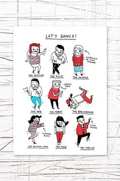 Pickle Parade Let`s Dance Tea Towel - Urban Outfitters
