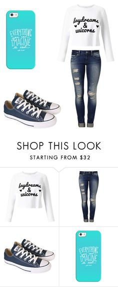 """""""Untitled #444"""" by fairytalestorybook ❤ liked on Polyvore featuring Miss Selfridge, Mavi, Converse and Casetify"""
