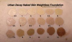 Urban Decay Naked Skin Ultra Definition Weightless Foundation