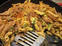 Mac & Mangold - Vegane Nudeln mit Käsesauce und Mangold, überbacken. Von beetrootmassacre.wordpress.com