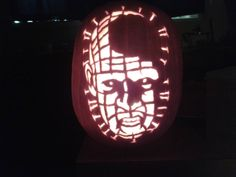pin head pumpkin carving by me